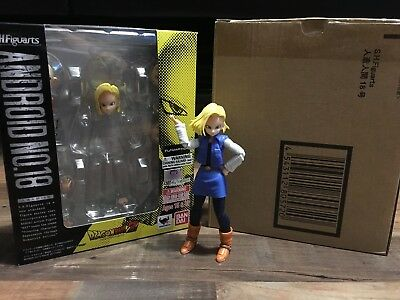 sh figuarts dragon ball z Android 18