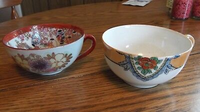 Tea Cups Lot Of Two  Noritake And Unknown