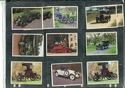 1992 Weetbix Trading Cards 'the Cars That Made Australia' X 12 Cards