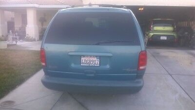 1999 Plymouth Voyager Good Car/Van