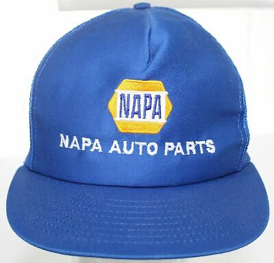 7b4f571964d Vintage NAPA Auto Parts Trucker Hat Snapback Cap Made in USA Louisville MFG  Co.
