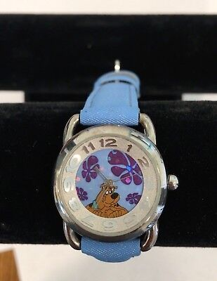 Working 2001 SCOOBY DOO Warner Bros Watch by Fossil & Collezio  Butterfly Watch