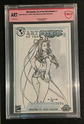 Eric Ebas Basaldua Aphrodite Ix School Girl Original Sketch Cover Cbcs Verified