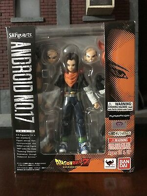 S.H. Figuarts Dragonball Z Android 17 NEW