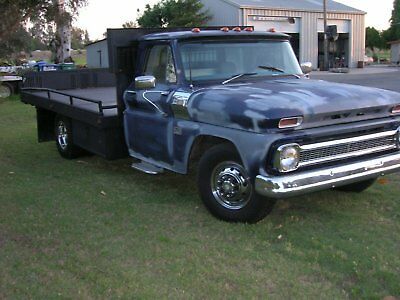 1966 C30 Chevy Commercial Work Truck Flatbed Dually V8 Chevorlet