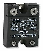 SSR 50A 240VAC Solid State Relays Panel Mount - SW03823