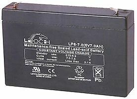 BATTERY LEAD ACID AGM 6V 7AH Batteries Rechargeable - CM85586