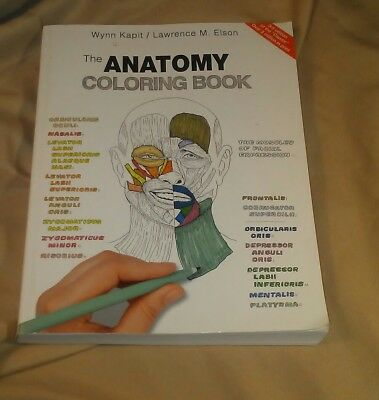 THE ANATOMY Coloring Book by Lawrence M. Elson; Wynn Kapit - $4.68 ...