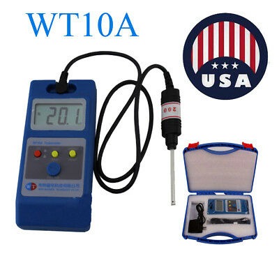 WT10A 0.1mT- 2000mT LCD Tesla Meter Gaussmeter Surface Magnetic Field Tester NS