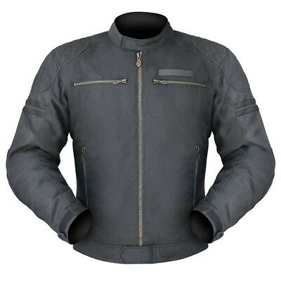 Dririder Trophy mens road textile motorcycle jacket black ALL SIZES RRP $350