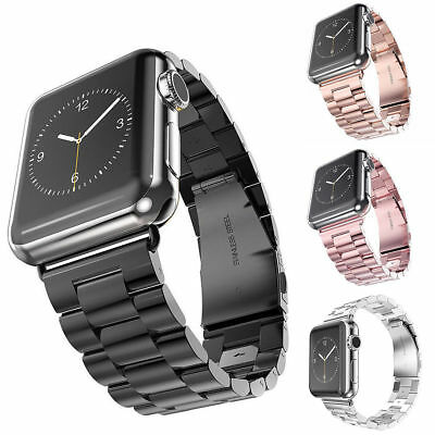 Stainless Steel Band Strap Bracelet For iWatch Apple Watch Series 3 2 1 38 42mm
