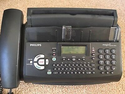 Philips Magic 3 Voice SMS Fax Machine TESTED & WORKING