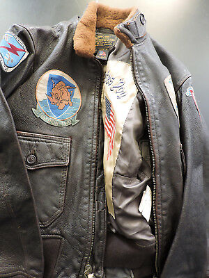 Jacket COCKPIT G1 TOP GUN Patch Made in USA - Giubbotto militare INTROVABILE