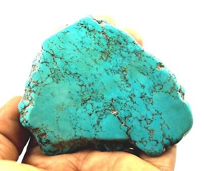 Natural Superb Quality 472 Ct Arizona Mine Sky Blue Turquoise Slab Gemstone