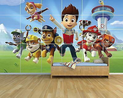PAW PATROL PAW03 - KIDS - Massive Wall Poster/Picture/Art A3x30