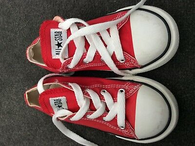 uNiSeX KiDS ToDDLeR ReD CoNVeRSe SiZe 10