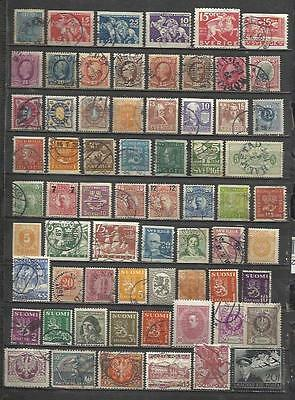 Q523-Lote Stamps Ancient Classics Countries Europe Without Price,