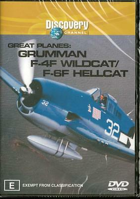 Gruman F-4F Wildcat - Discovery Channel - New R4 Dvd Free Local Post