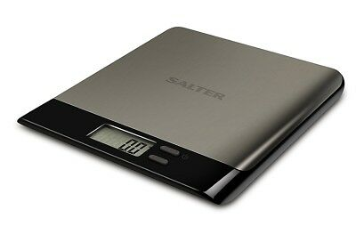 Salter Arc Pro 5kg Stainless Steel Electronic Digital Kitchen Scales LCD