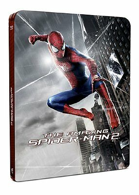 The Amazing Spider-Man 2 - Blu Ray Steelbook (Includes 3D Lenticular Magnet)