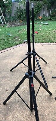 pro cussion pa speaker stands