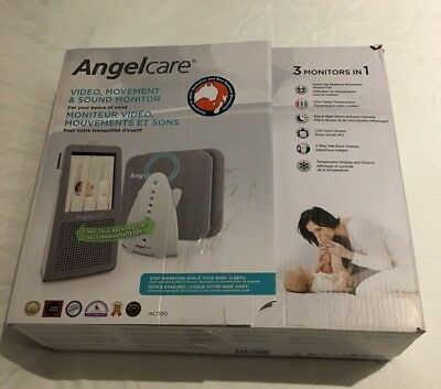 Angelcare Baby Monitor AC1100 - Colour Video Movement & Sound
