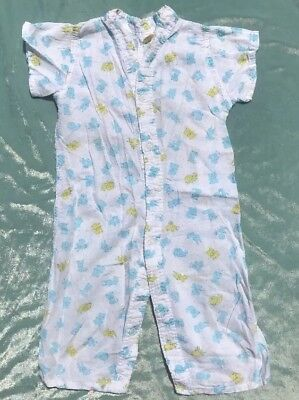 Vintage Romper One Piece Outfit Size 12 Months
