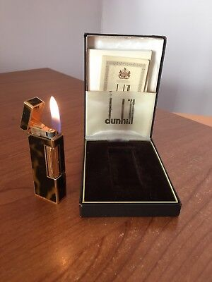 Dunhill Lighter Rollagas Boxed - Accendino Briquet Feuerzeug