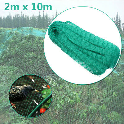 2 x10m Commercial Fruit Tree Plant Crop Knitted Anti Bird Netting Pest Net Mesh