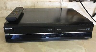 Toshiba DVR19DT DVD & VCR Recorder - Freeview - Transfer Vhs Tapes to DVD COMBI