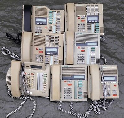 BT Norstar Meridian Phone System CCU Plus 5 Handsets & Switching Box