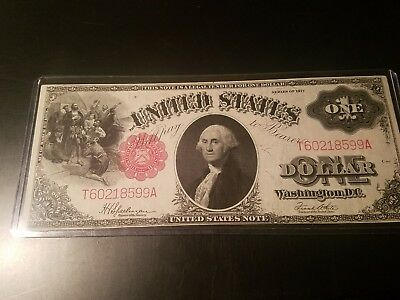 1917 $1 Reserve Note Mint!