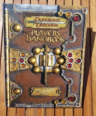 D&D Players Handbook Core Rulebook I  Dungeons & Dragons 3.5 Edition