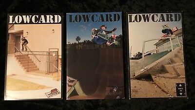 Low Card Skateboarding Magazine Lot  Issues 58 59 60 Mint Condition No Reserve