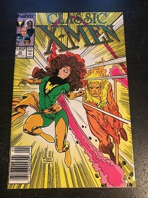 Classic X-men#13 Incredible Condition 9.2(1987) Art Adams Cover!!