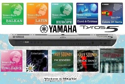 TYROS5 Expansion Styles &Sounds (10PACKS) DOWNLOAD