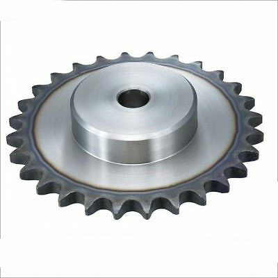 """#25 Chain Drive Sprocket 80T For 25H 1/4"""" Chain Pitch 1/4"""" 6.35mm OD 164mm"""