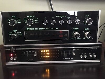 McIntosh C33 Stereo Preamplifier !!!Beautiful Condition Working!!!! ANOTHER GEM!