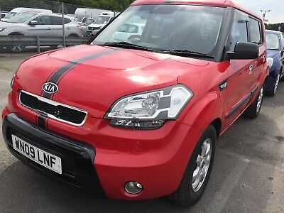 09 Kia Soul 1.6 Samba **red, Only 44K Miles, Alloy Wheels, Sensors, Air Con!!**