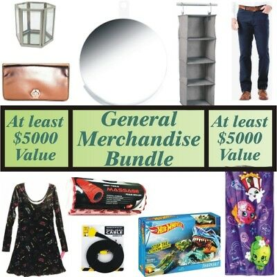 Wholesale Liquidation Lot 500 Assorted Products, eBay Sellers, Over $5000 Worth