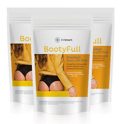 Brazilian Bum Lift Pills Butt Enhancer, Tone Round Firm Enlarger Big Bum Tablet