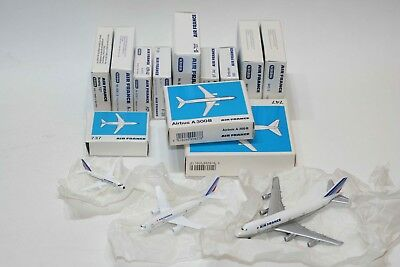 Lot de 12 avions Air France Schabak Flugzeug Made in Germany