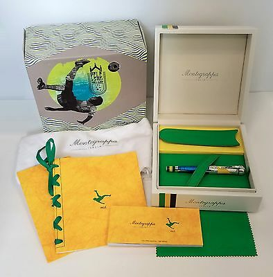 "MONTEGRAPPA ""Icons""- PELE HERITAGE Rollerball Pen MSRP $4,500"