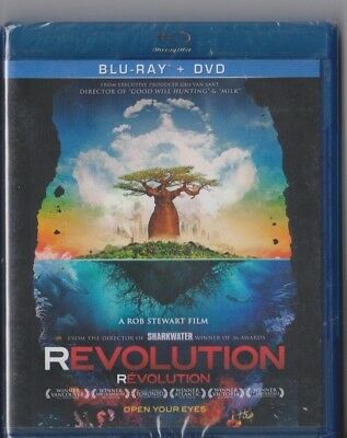 1x SEALED NEW Blu-Ray Disc Movie - REVOLUTION  - Also In French + DVD