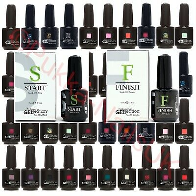 Jessica Geleration UV/LED Nail Gel Polish Choose From 160+ Colours 15ml Each