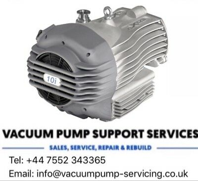 EDWARDS nXDS 10i DRY SCROLL VACUUM PUMP-SERVICED-WARRANTY..£1995...call us now..