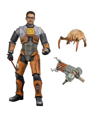 "Half-Life 2 - 7"" Scale Action Figure - Dr. Gordon Freeman - NECA"