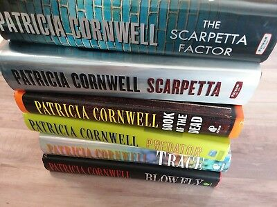 BIG LOT OF 17 Patricia Cornwell Books Scarpetta & More