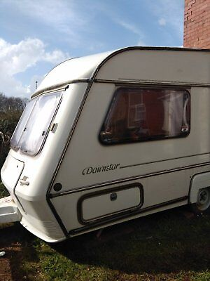 2 berth abi award dawnstar touring caravan