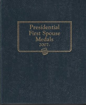 First Spouse 41 Pc Bronze Medal Set 2007-2016 In Whitman Album
